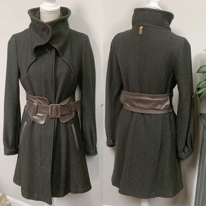 Mackage Tessy Military Inspired Pea Coat